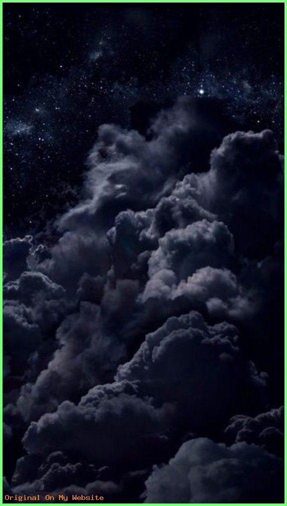 Iphone Wallpapers Dark Black Nights Clouds Stars Wallpaper Iphonewallpaperblacksky Iphonewall Dark Wallpaper Iphone Iphone Wallpaper Sky Dark Wallpaper