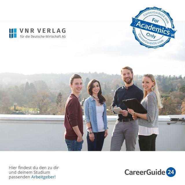 """Die VNR Verlag für die deutsche Wirtschaft AG gehört zu den zehn größten Fachverlagen Deutschlands und stellt seit über 40 Jahren Expertenwissen für jeden leicht verständlich aufbereitet zur Verfügung. Der VNR Verlag bietet dir neben dem Direkteinstieg ebenfalls die Möglichkeit eines Praktikums oder Traineeprogramms. Auch kannst du dich als Werkstudent bewerben. Bewerbungstipps findest du in unserem <a href=""""https://www.careerguide24.com/de/Blog"""" target=_blank>Karriere Blog</a>."""