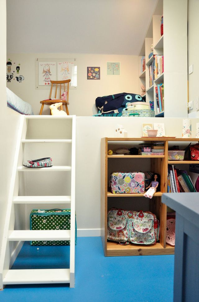 Petite chambre enfant sous combles Kids rooms, Room and Diy bedroom