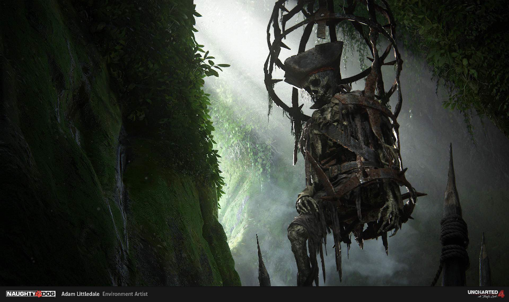 The Art Of Uncharted 4 100 Concept Art Collection In 2020
