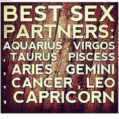 What zodiac sign has the best sex