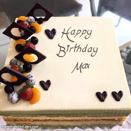 Happy Birthday Max - Video And Images In 2020