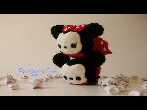 Tutorial Amigurumi Mickey Mouse : Tsum tsum mickey and minnie mouse ami pic tutorial original