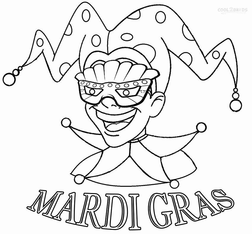 Mardi Gras Mask Coloring Page Fresh Printable Mardi Gras Coloring Pages For Kids Mardi Gras Mardi Gras Mask Template Coloring Pages
