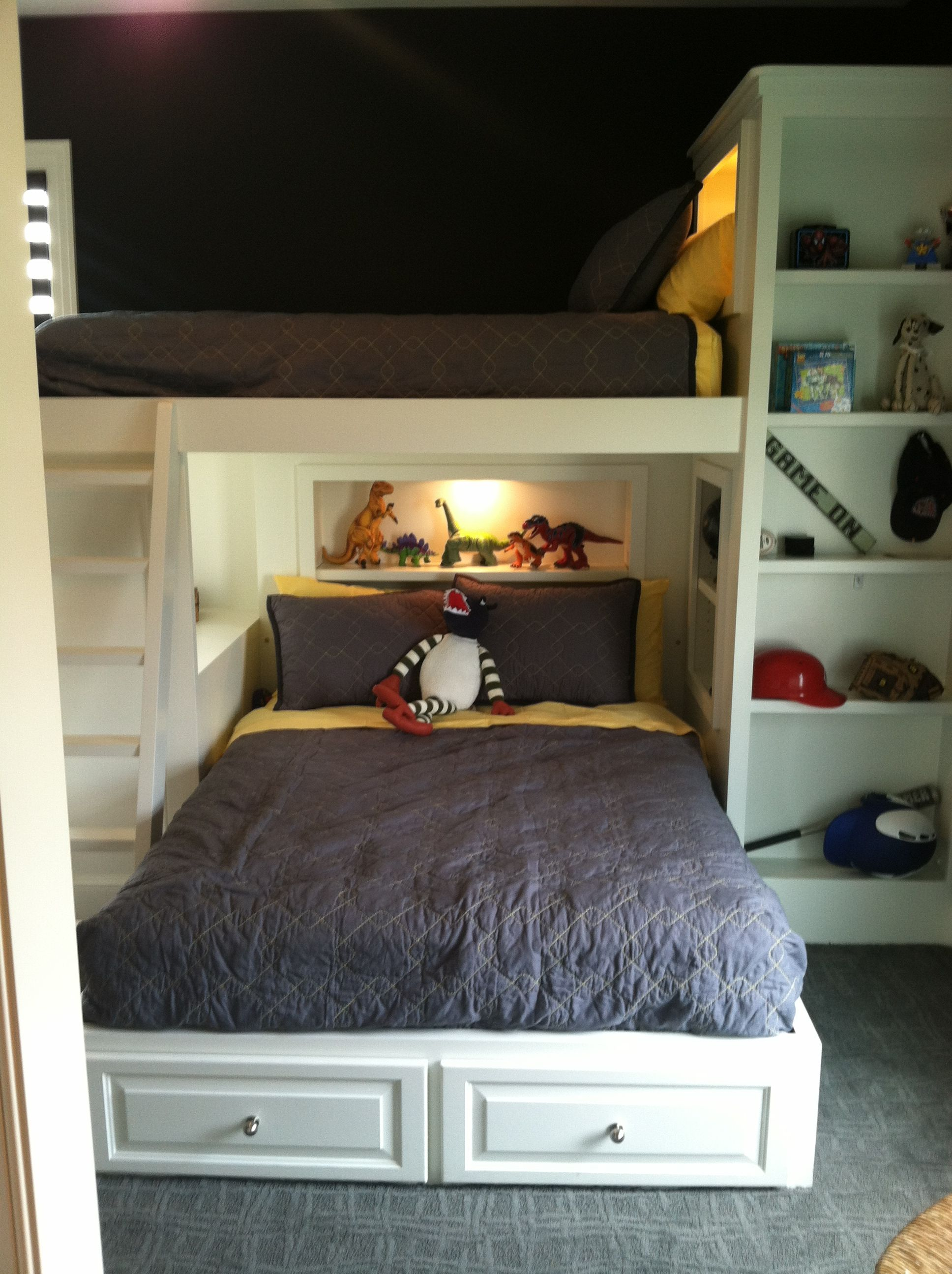 Kids Bedroom Built Ins Are A Space Saver