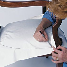 How To Slipcover A Chair...complete, Step By Step Instructions From Making