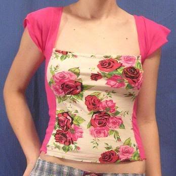 72d264c36 Modifica una blusa y agrégale flores  yolohice  Singer