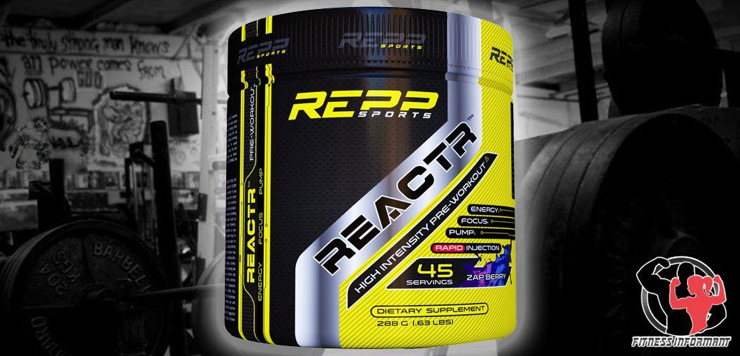 Repp Sports REACTR PreWorkout Review bodybuilding