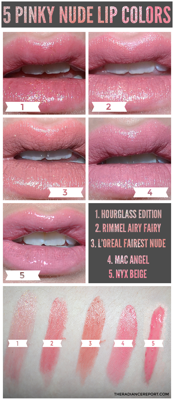 Loreal color caresse by color rich lipstick - 5 Pinky Nude Lip Colors The Best I Like Is L Oreal Fairest Nude