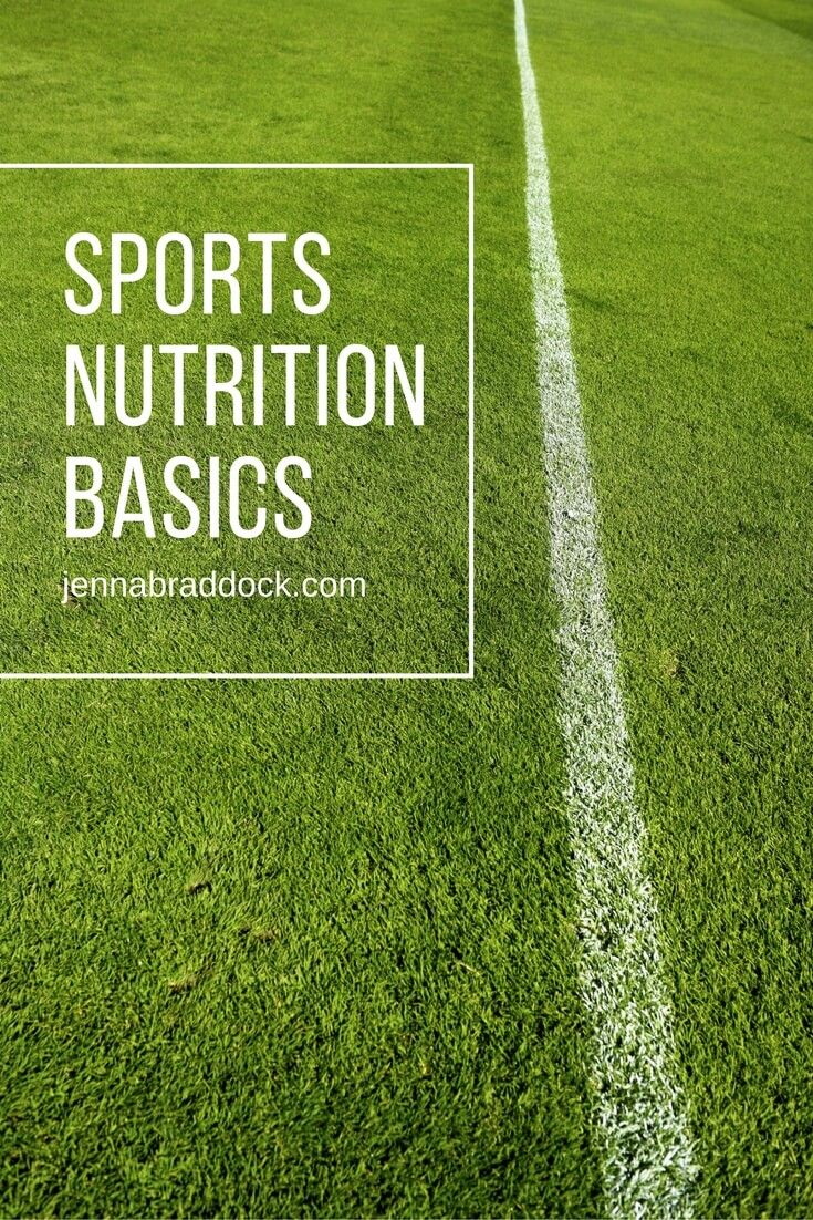 Sports Nutrition Basics - Make Healthy Easy - Jenna Braddock RD