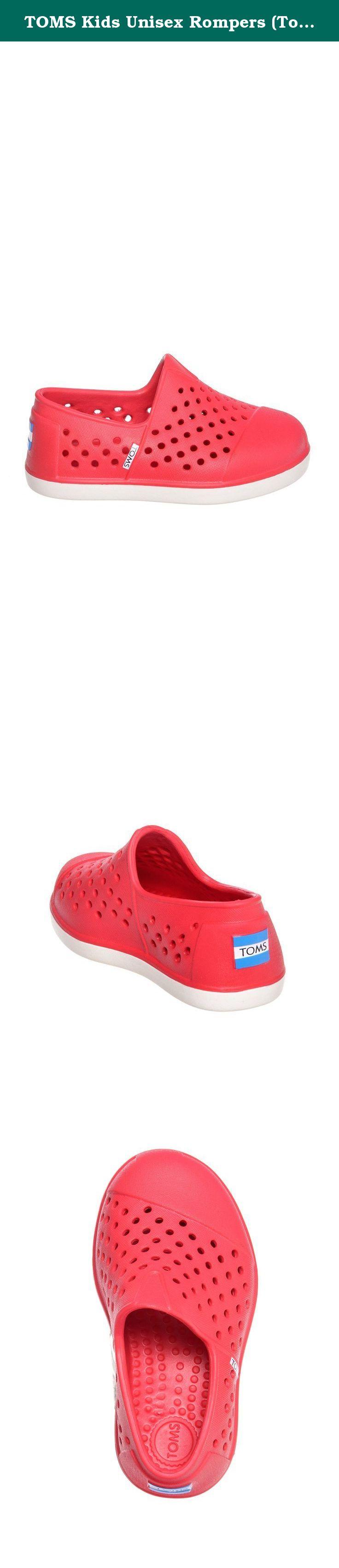 ec32e8dcfd6 TOMS Kids Unisex Rompers (Toddler Little Kid) Red Sneaker 8 Toddler M.  Lightweight