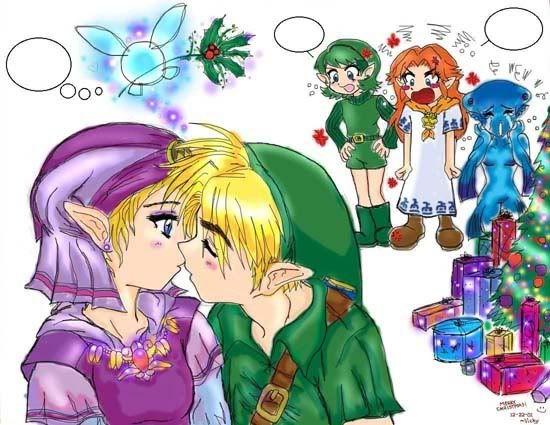 link and zelda relationship