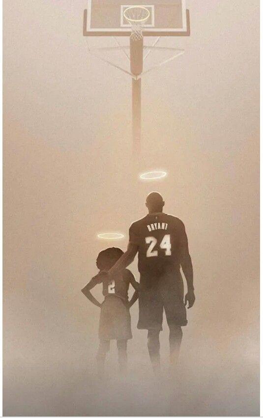 R.I.P. Kobe and Gigi!!! ♡ in 2020 Kobe bryant wallpaper