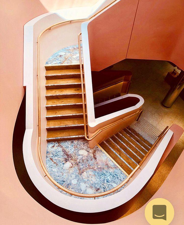 Best Interior By Rachel Beierle On Stairs Retro Interior 400 x 300