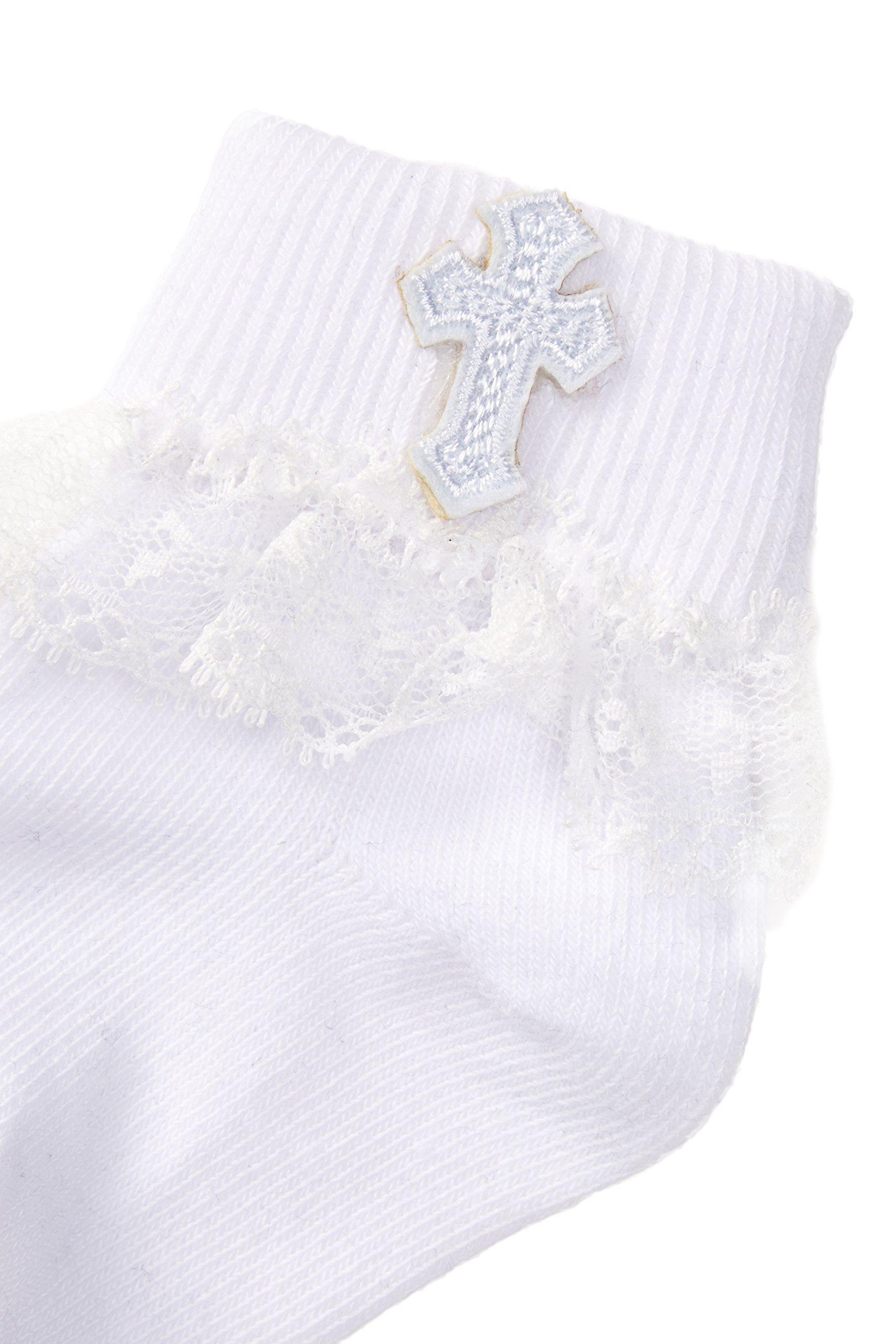 Girl/'s Christening Communion Socks