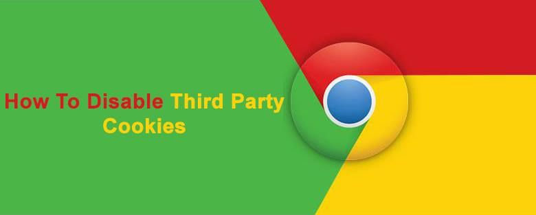How to disable thirdparty cookies in google chrome