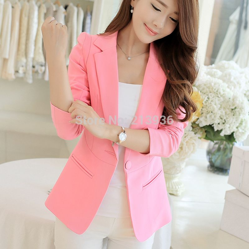 Cheap Blazers on Sale at Bargain Price, Buy Quality blazer female ...