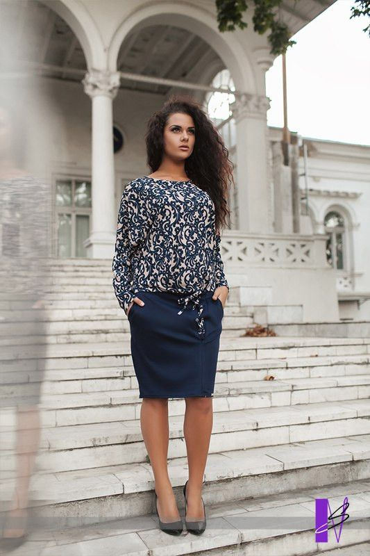 9ab2457f832 Платье французский трикотаж с принтом батал - ShopStyle магазин одежды от  производителя. в Одессе