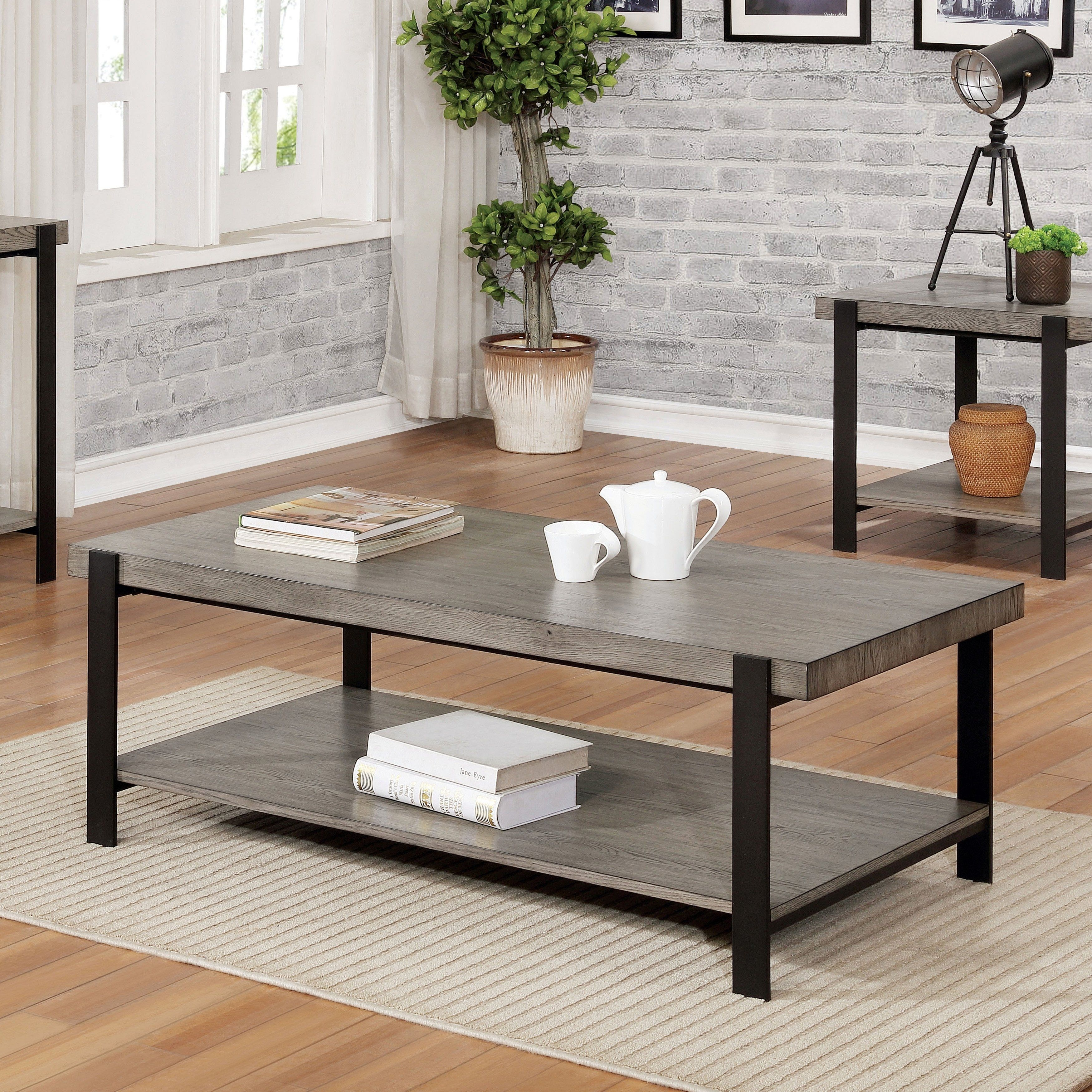 Pin By Jeanette Andino On Ryan S Apartment In 2021 Coffee Table Furniture Of America Coffee Table Grey [ 3500 x 3500 Pixel ]