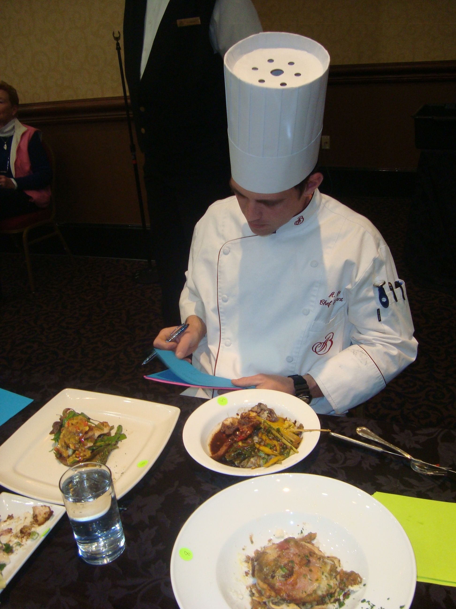 Experienced broadmoor chefs serve as judges for best chef