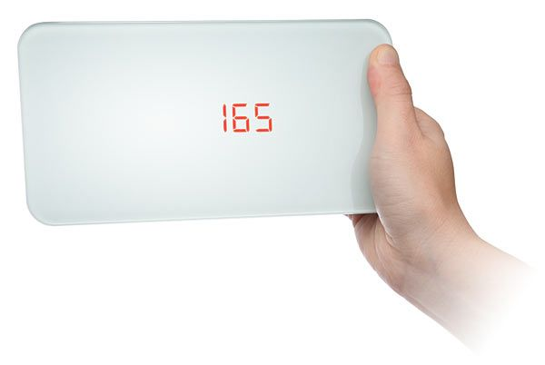 Portable Body Scale For Bathrooms With Limited Floor E Just Weigh Yourself And Pop It In The Drawer Great Travel Too