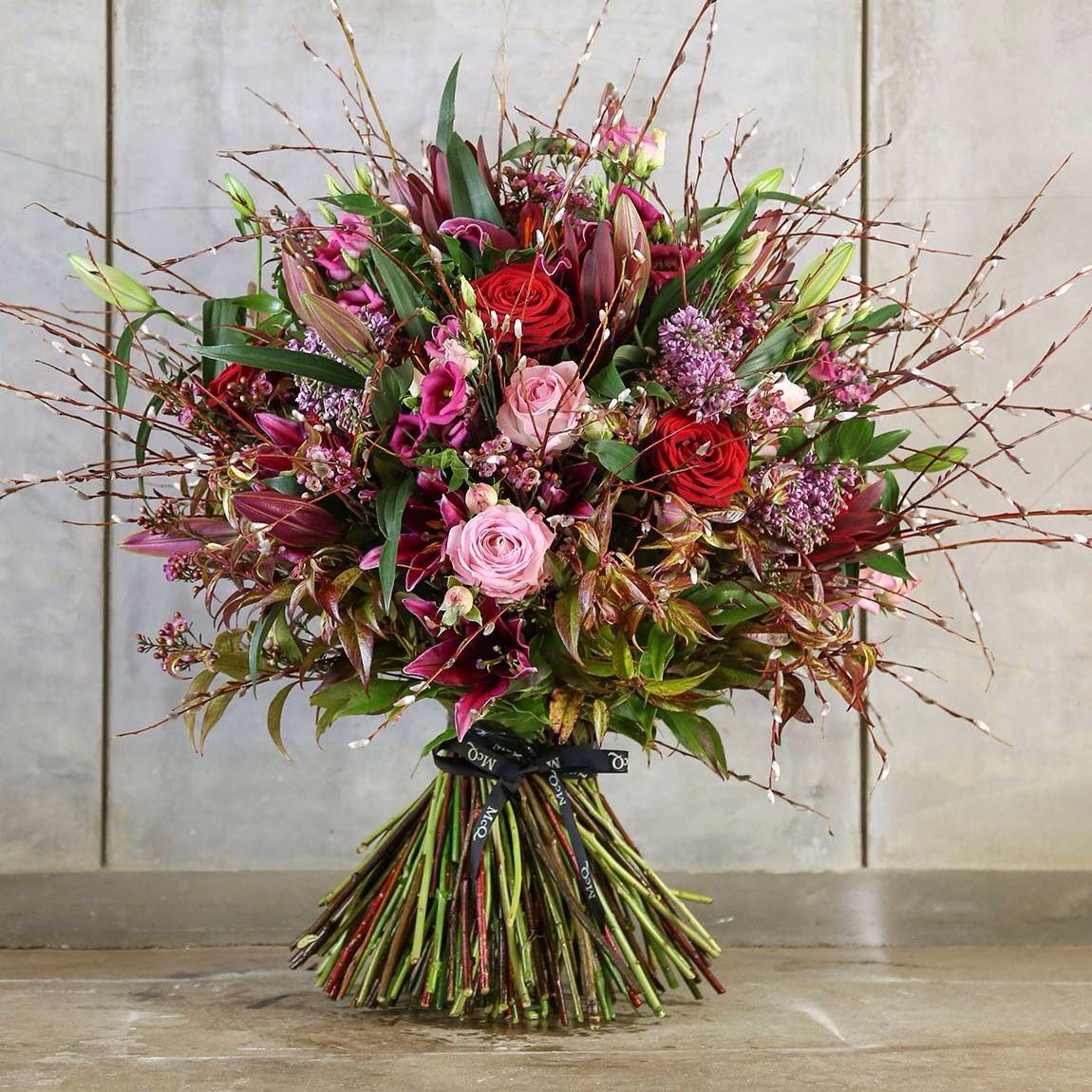 McQueens romantic bouquet