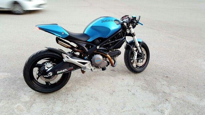 My Ducati Monster Cafe Racer