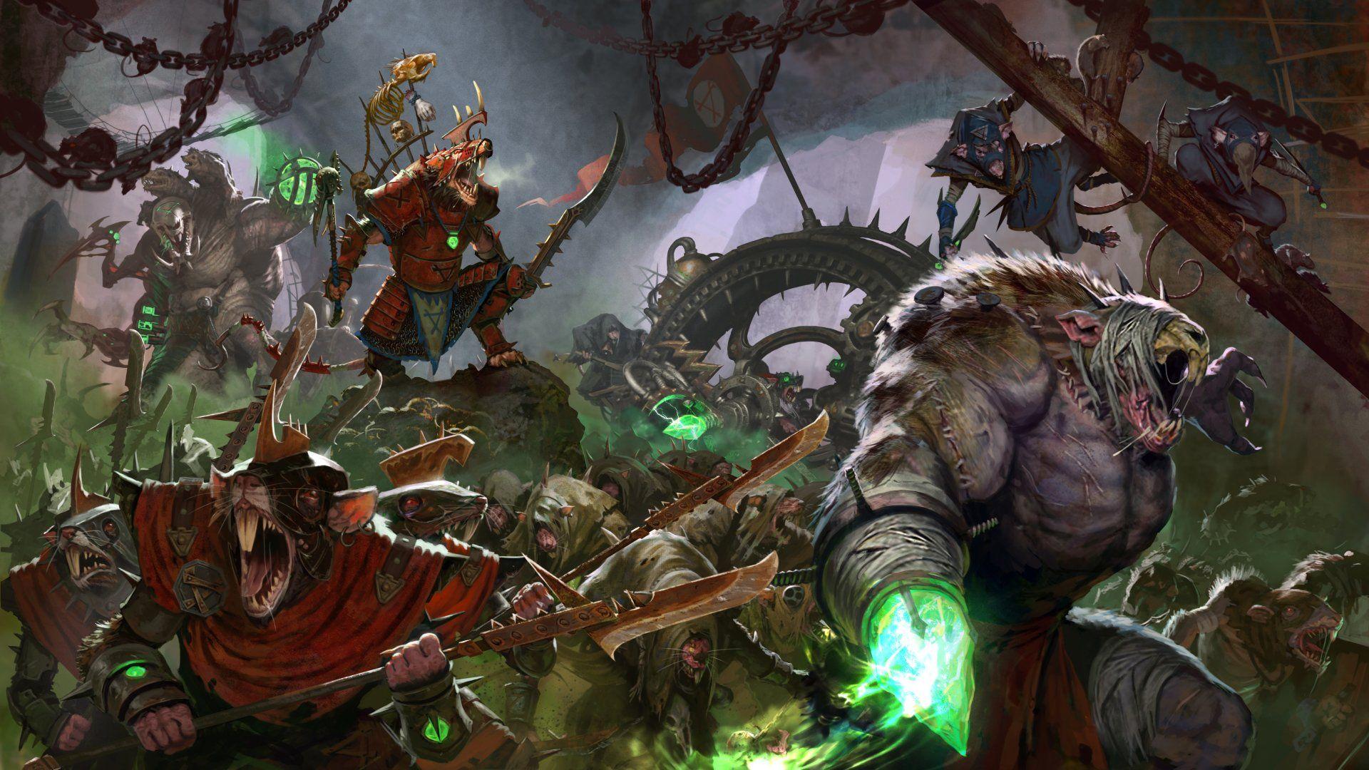 Video Game Total War Warhammer Ii Warrior Creature Rat