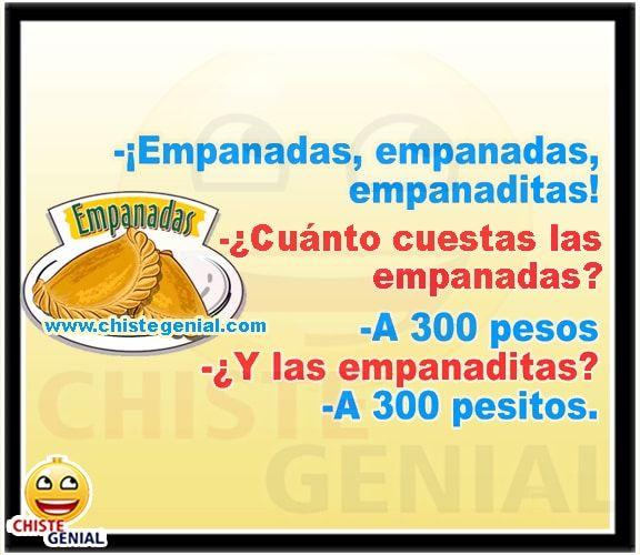 Empanadas empanadas empanaditas ¿ Cuánto cuestan las