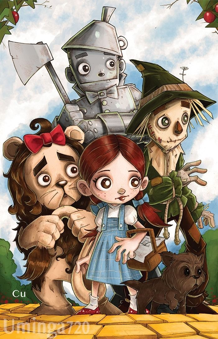 There S No Place Like Home Finished Up My Wizard Of Oz Piece This Morning Wizardofoz Fantasy Art Artis The Wonderful Wizard Of Oz Scarecrow Drawing Art