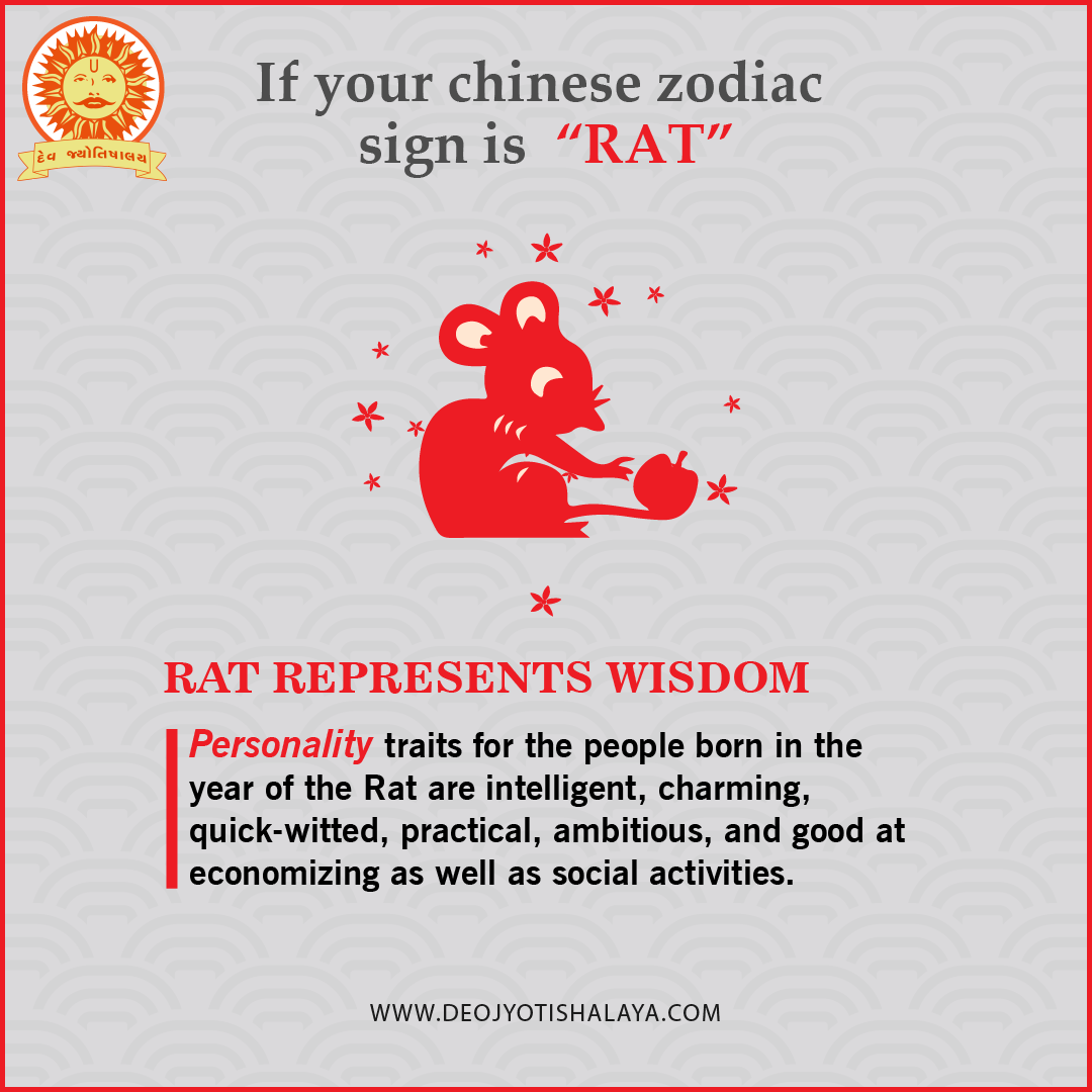 If Your Chinese Zodiac Sign Is A Rat You Re An Intelligent Chinese Zodiac Signs Of Your Born Year Chinese Zodiac Signs Zodiac Signs Personality Traits