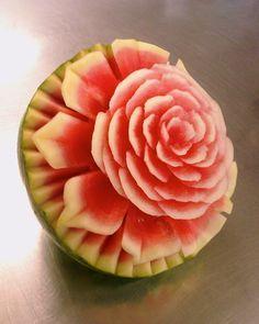 Blog de olivierhautot : sculpture de fruits et légumes (vegetable carving)…