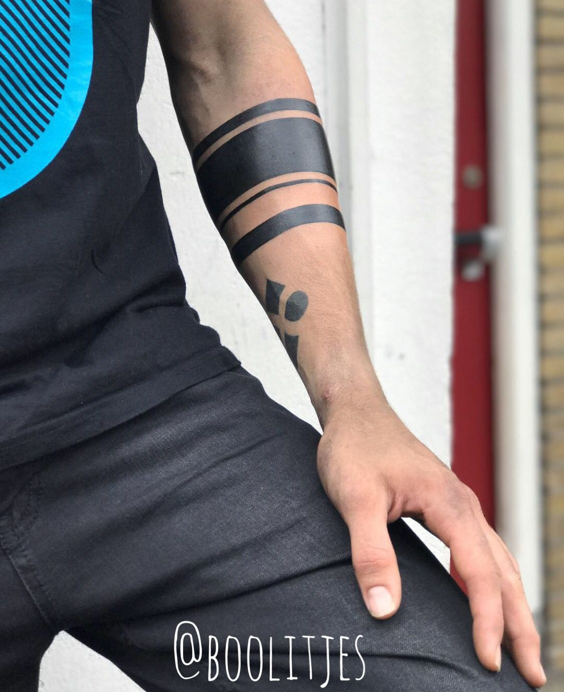 Armband Tattoo Idea For Men Armband Tattoos Black Band
