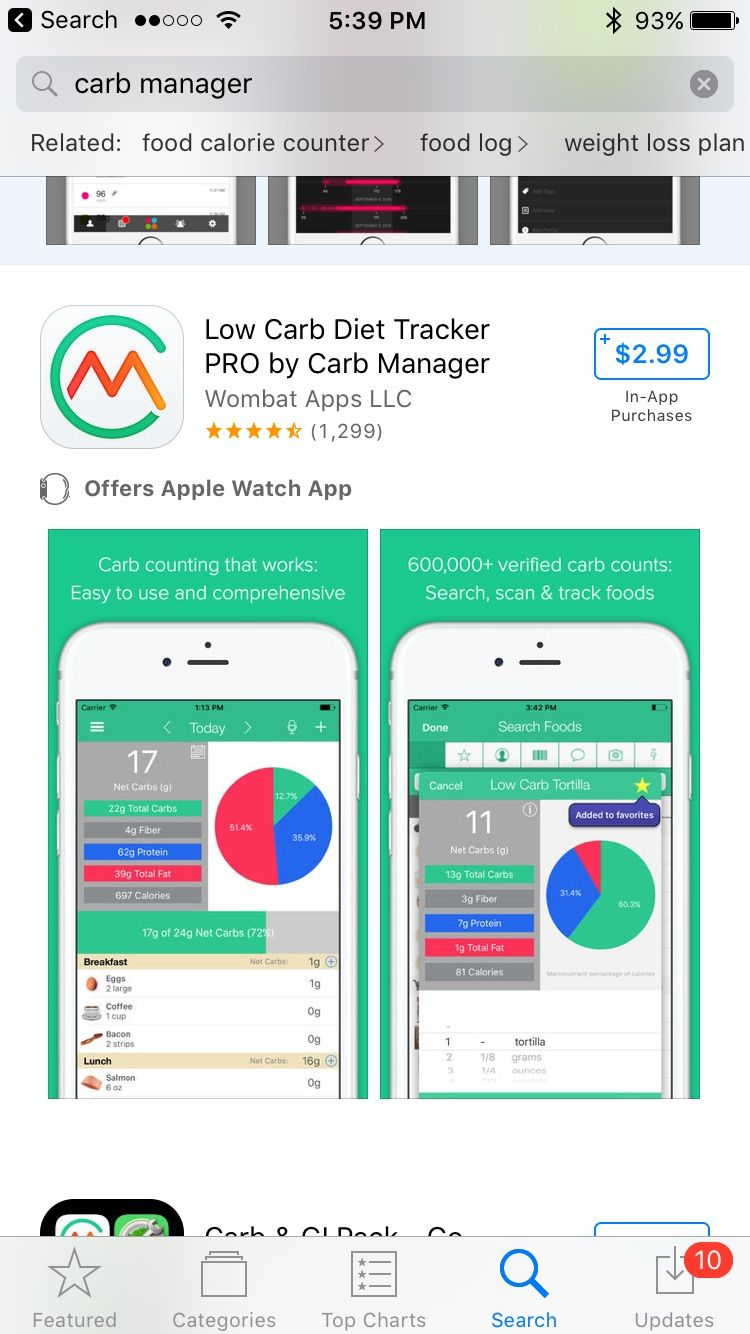 Food Journal App No Calories