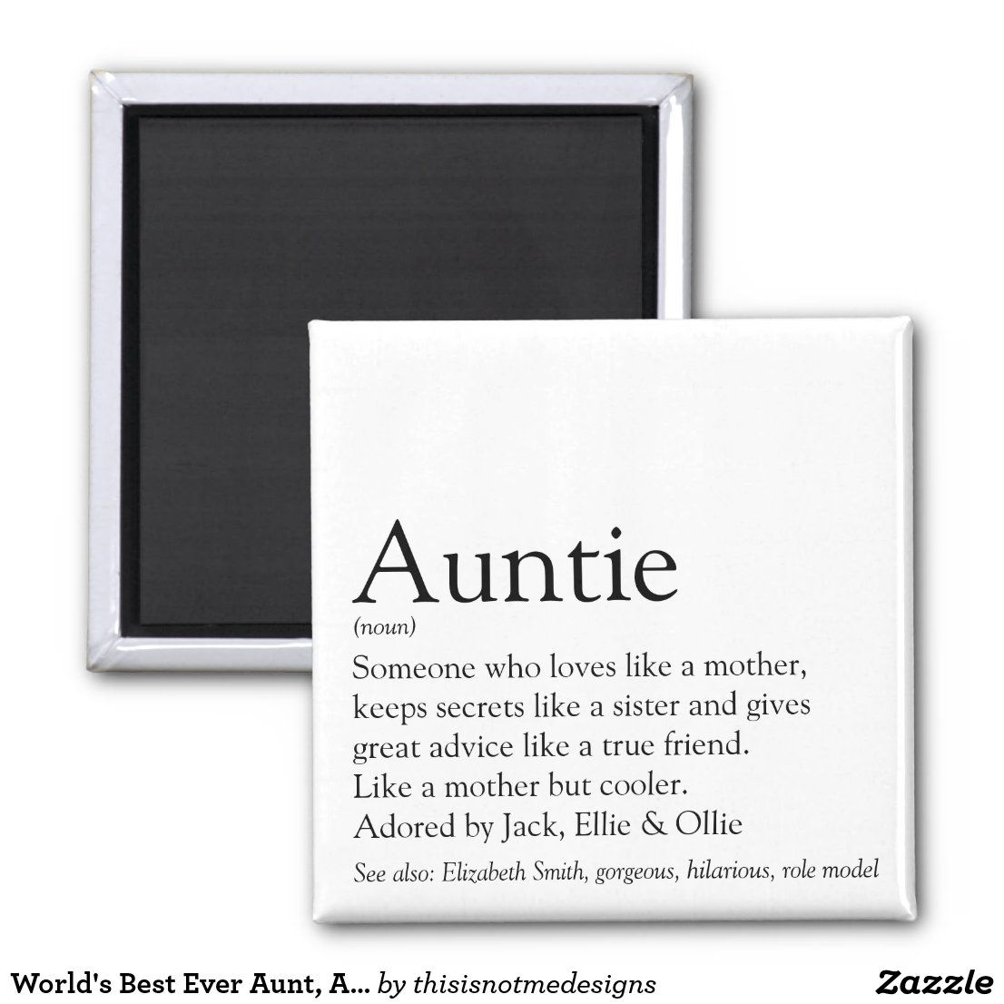 Shabby style as sister loved as Aunt Adored-Wooden Sign Gift