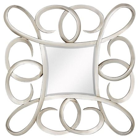 Sybil Square Wall Mirror From The Clear Winners Event At Joss And