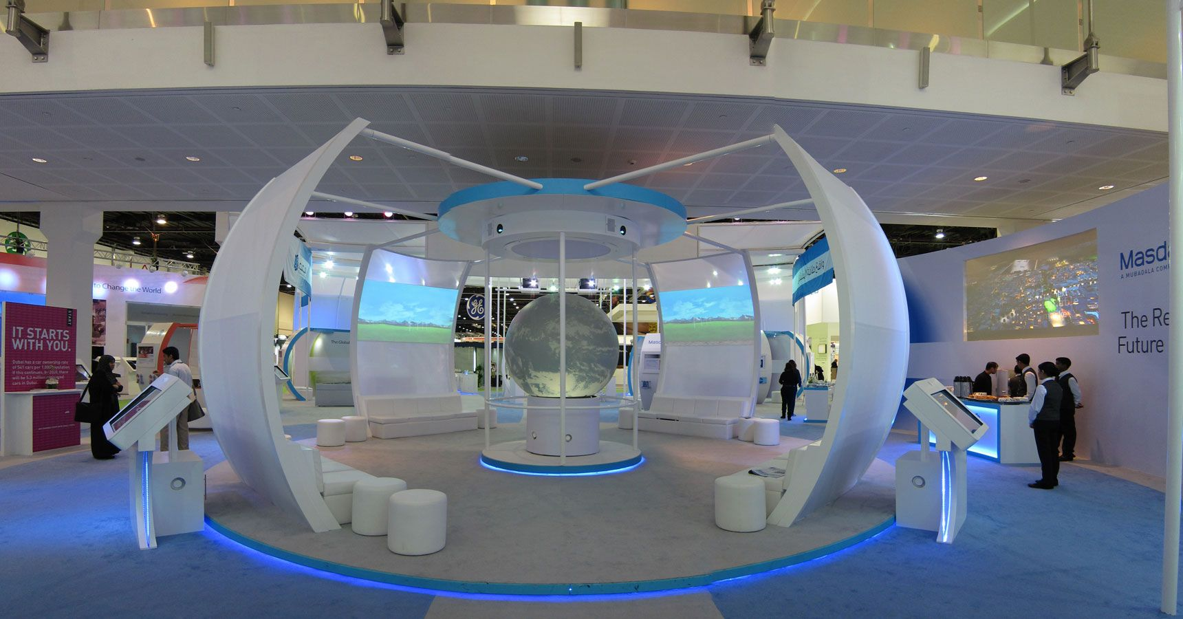 Exhibition Stand Or Booth : Circular exhibit booths google search extraordinary