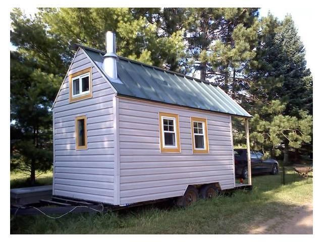 Mini House On Wheels Price Reduced Tiny House Listings