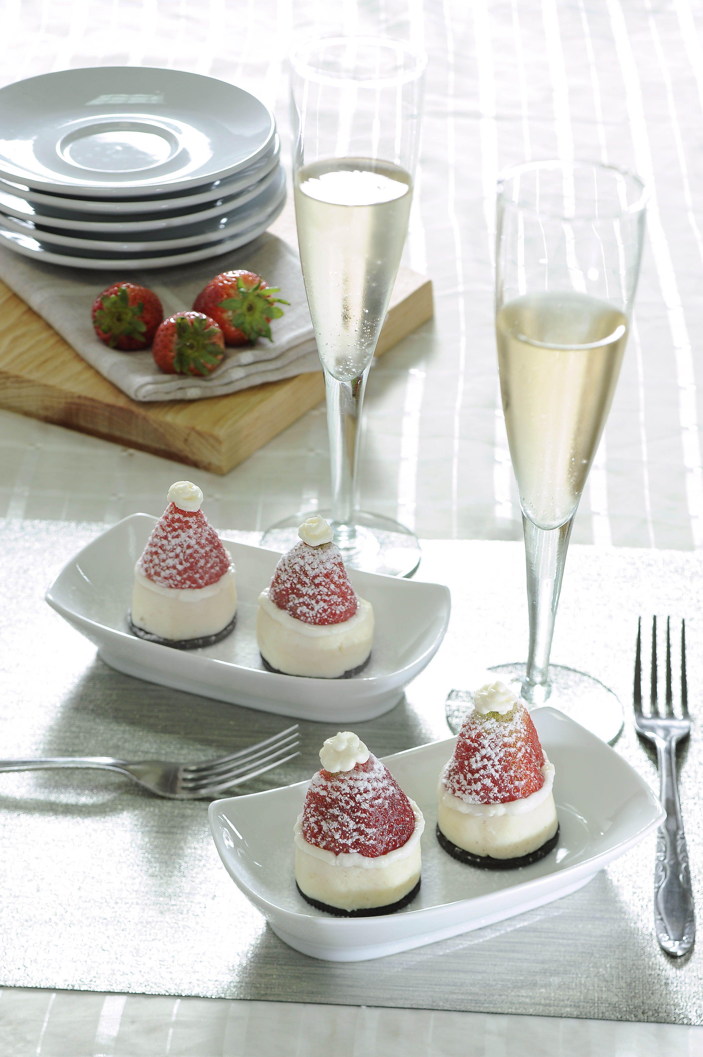 Bocaditos de cheesecake sin horno para navidad recipe - Postres para hacer en casa ...