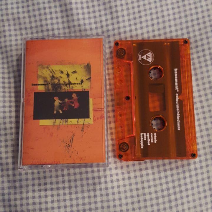 Basement Colourmeinkindness Orange Cassette basement