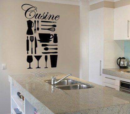 Vinilos decorativos para cocinas 13660 mla3141646795 for Vinilos decorativos para cocina