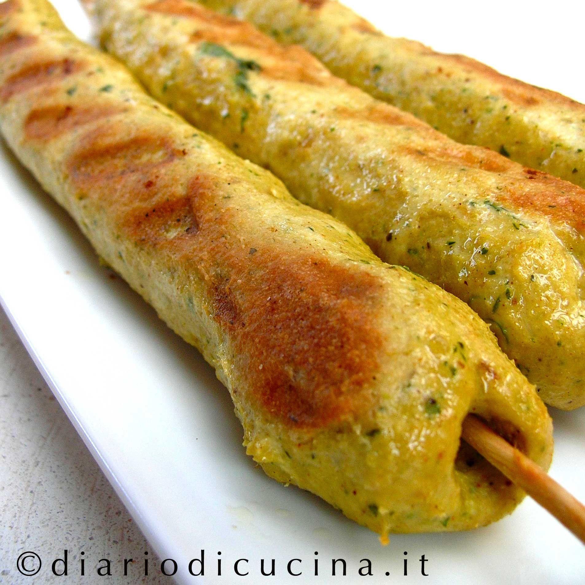 Ricetta Di Kebab Al Forno.Kebab Di Pollo All Indiana Diario Di Cucina Expat Mamma In Francia Ricetta Ricette Kebab Kebab Cibi Indiani