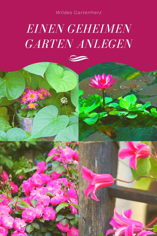 Du Kannst Auch Einen Geheimen Garten Bei Dir Zu Hause Anlegen Geheimer Garten Garten Anlegen Der Geheime Garten Film