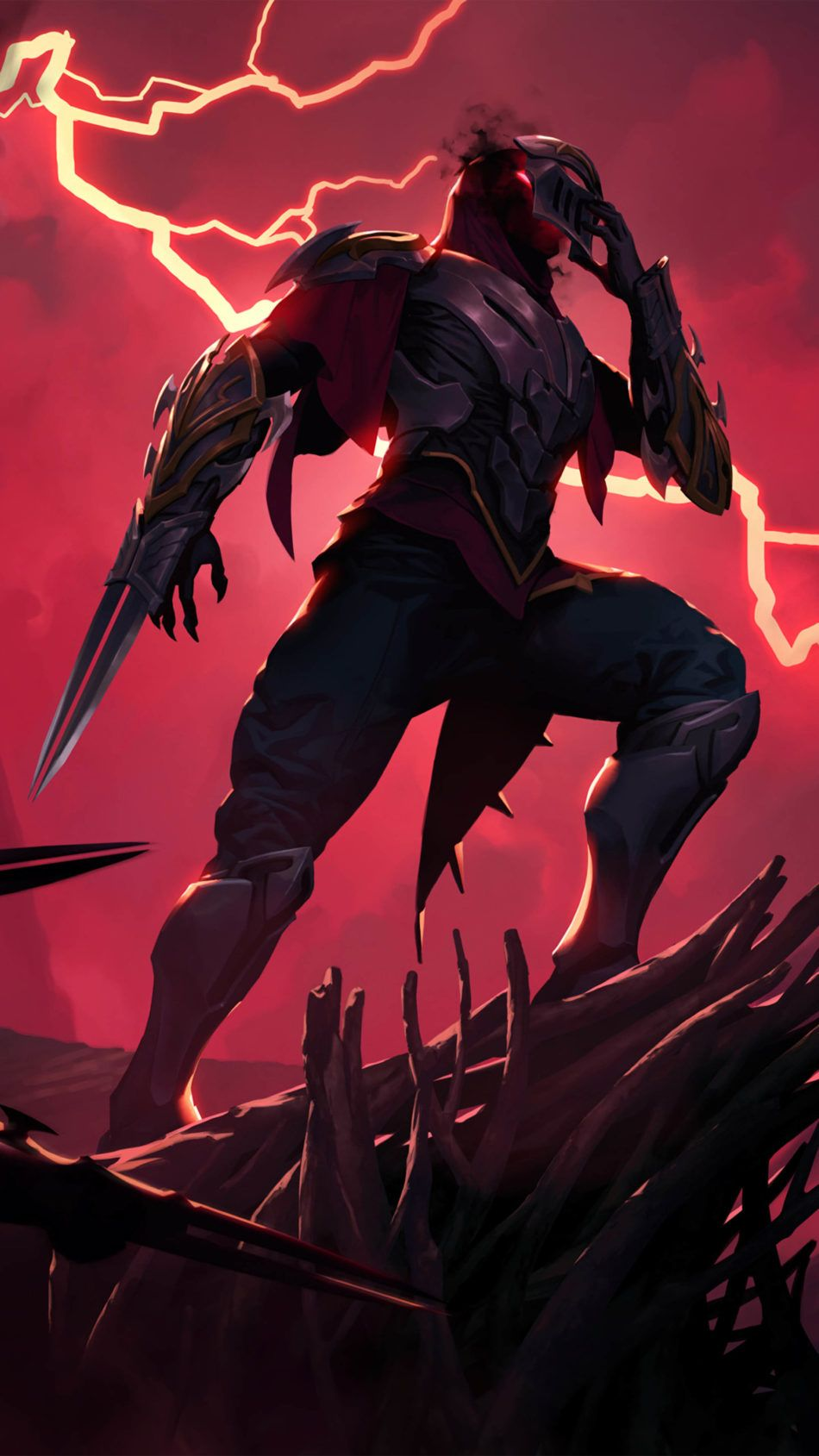 Zed League Of Legends 4k Ultra Hd Mobile Wallpaper In 2020 Lol League Of Legends League Of Legends League Of Legends Characters