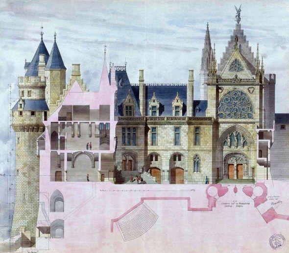 viollet-le-duc Un passé recréé: Pierrefonds | L'histoire par l'image