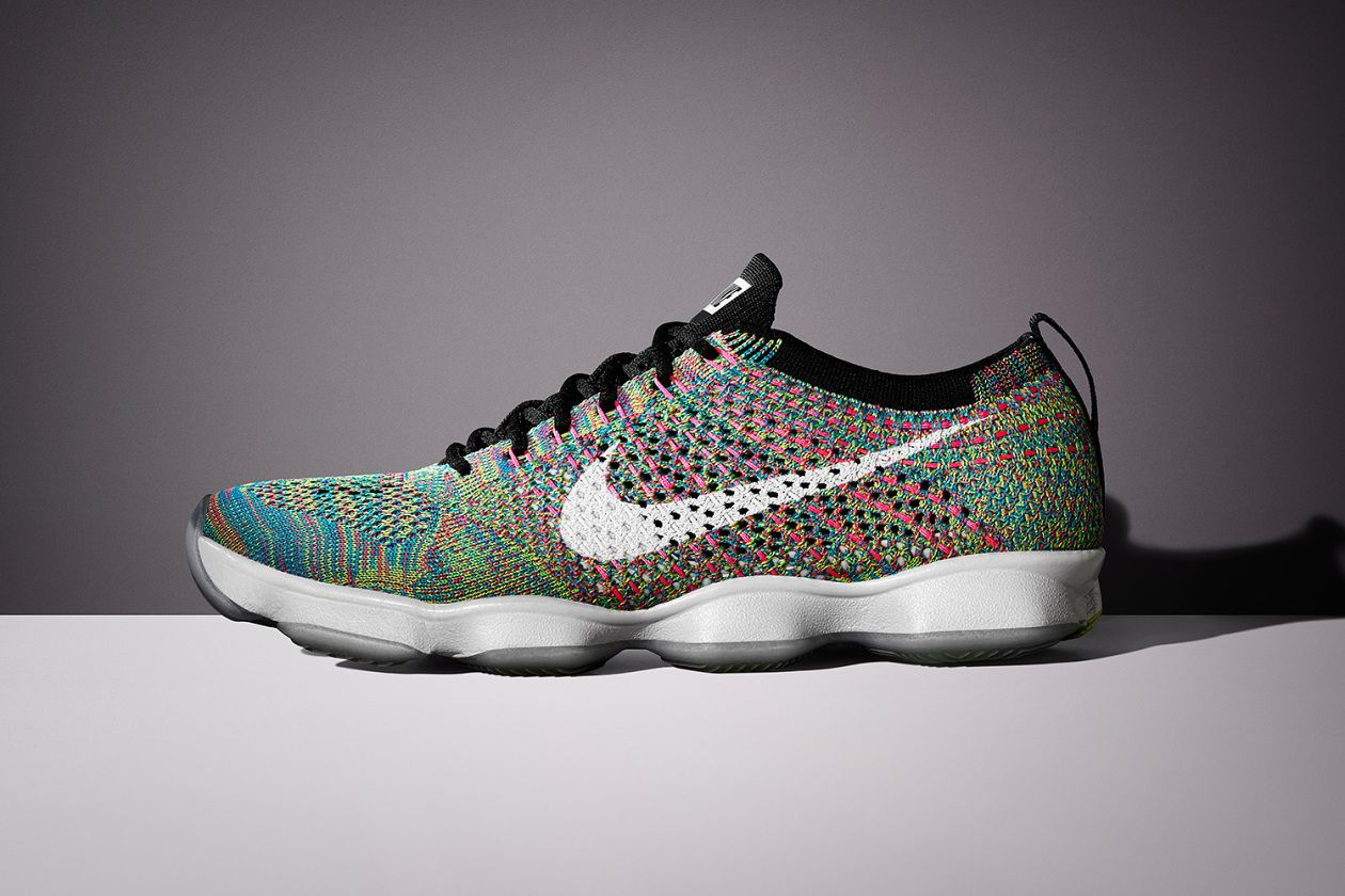 nike shoes lunar flyknit multicolor trainer 861863