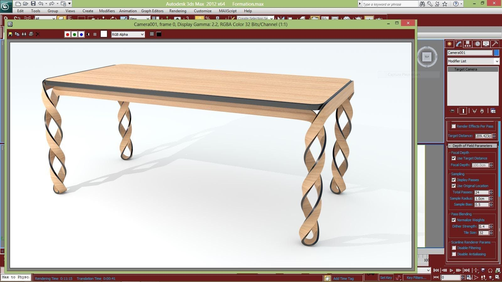 Max A Table Table Modeling With 3ds Max 3dmax Tutorial 3ds Max