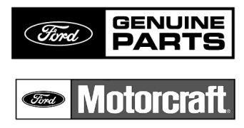 Ford Genuine Parts And Motorcraft Logos Motorcraft Ford Parts
