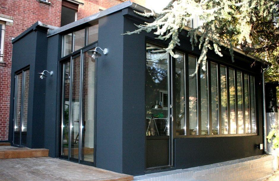 img 2749 extension maison pinterest agrandissement maison extension maison et verriere. Black Bedroom Furniture Sets. Home Design Ideas