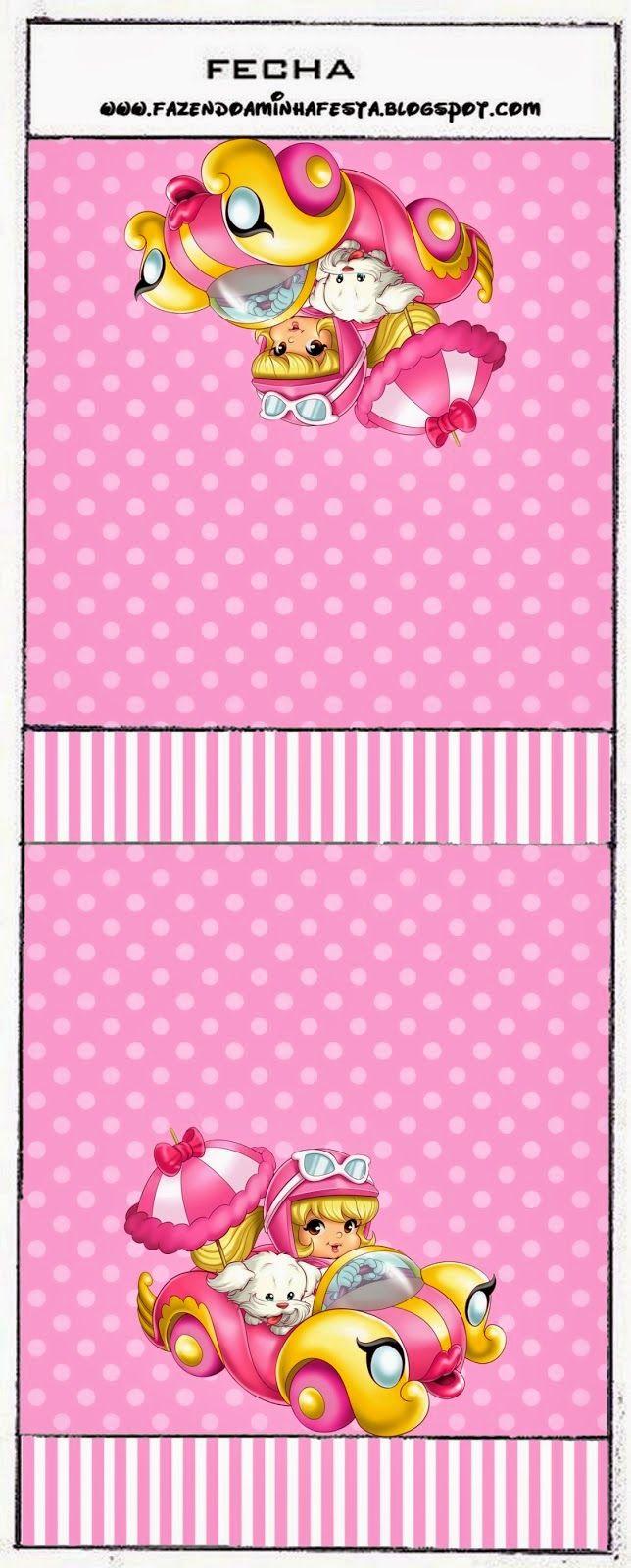 Penelope Glamour Bebé: Etiquetas para Candy Bar para Imprimir Gratis ...